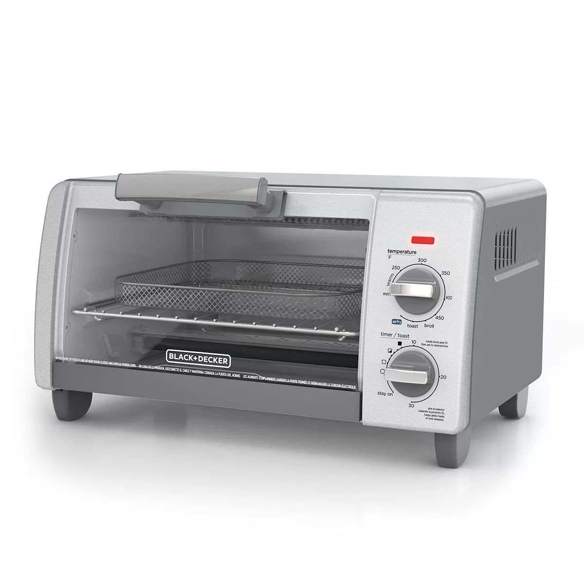 BLACK+DECKER™ Crisp 'N Bake Air Fry 4-Slice Toaster Oven TO1785SG