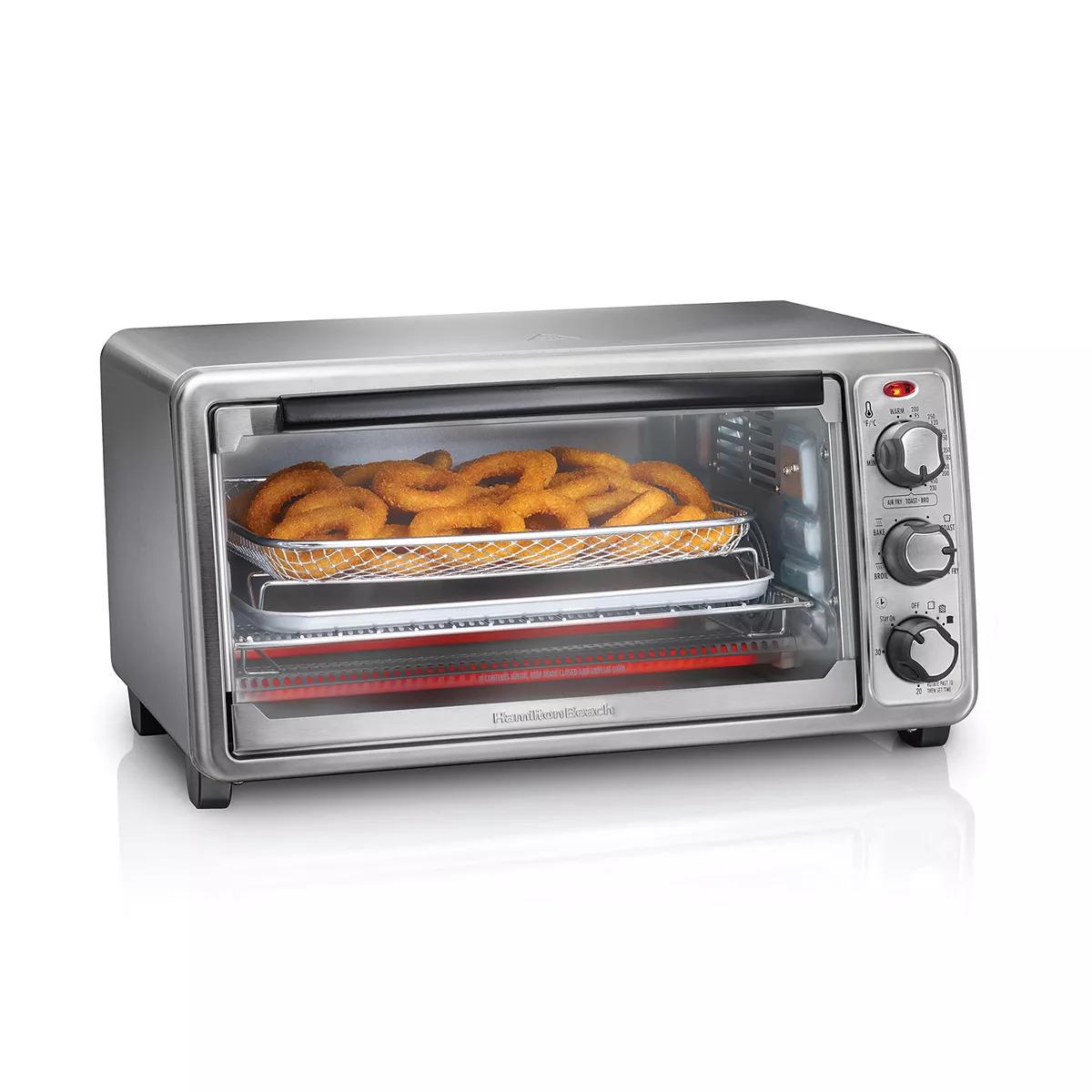 Hamilton Beach Sure-Crisp Air Fryer Toaster Oven 31413
