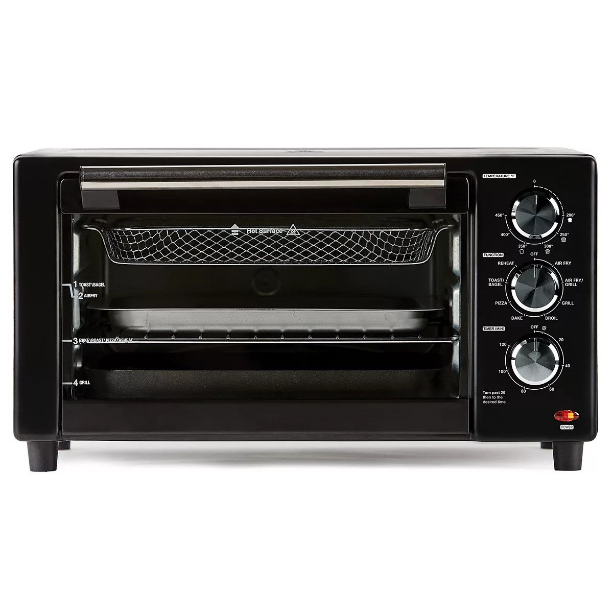 PowerXL Air Fryer Grill Toaster PXLAFG
