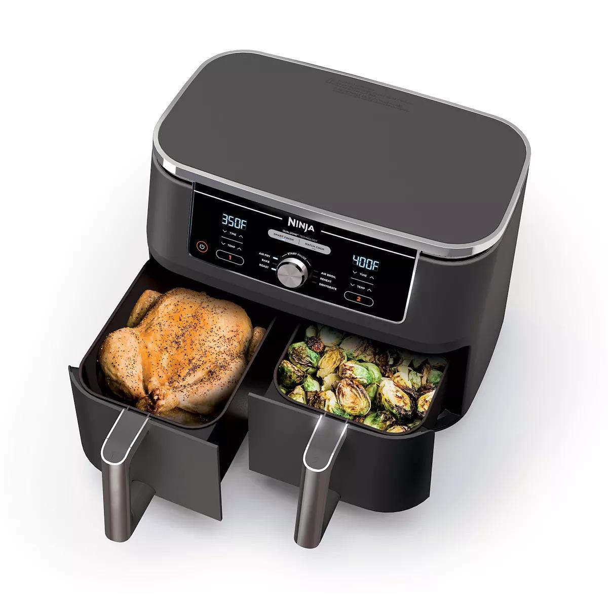 Ninja Foodi 6-in-1 10-qt. XL 2-Basket Air Fryer DZ401