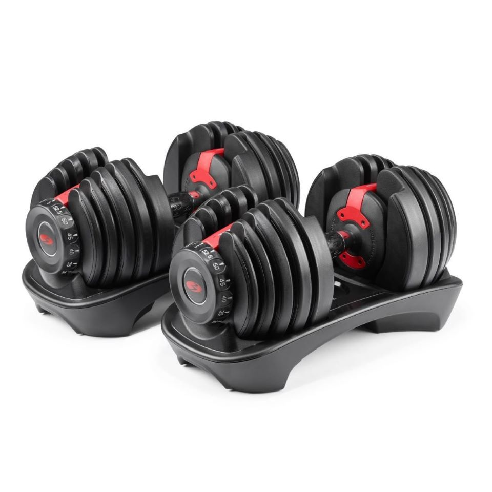 Bowflex SelectTech Adjustable Dumbbells Pair