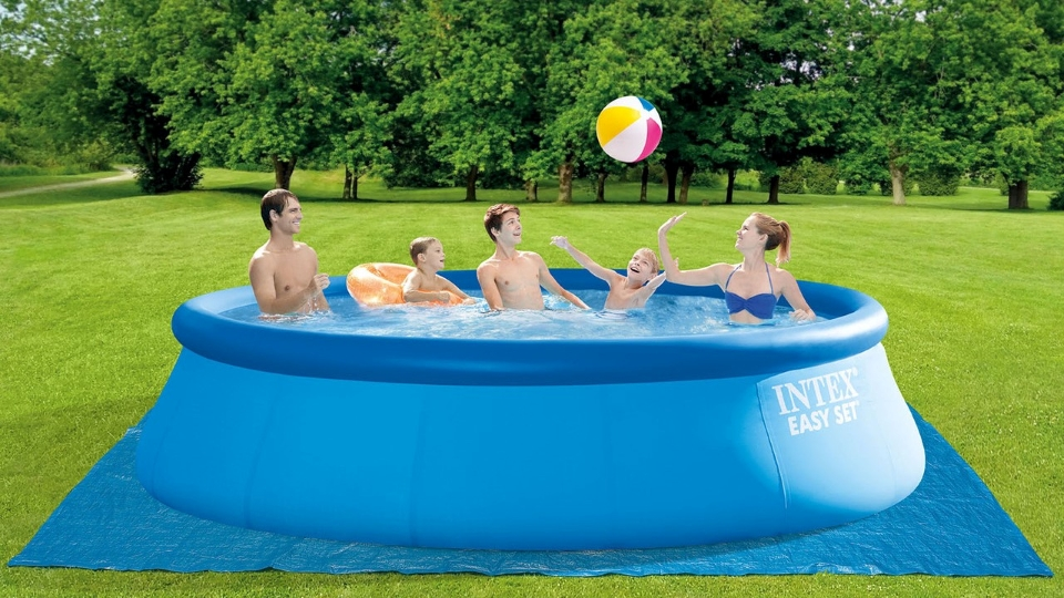 Intex® 15ft X 48in Easy Set Inflatable Pool