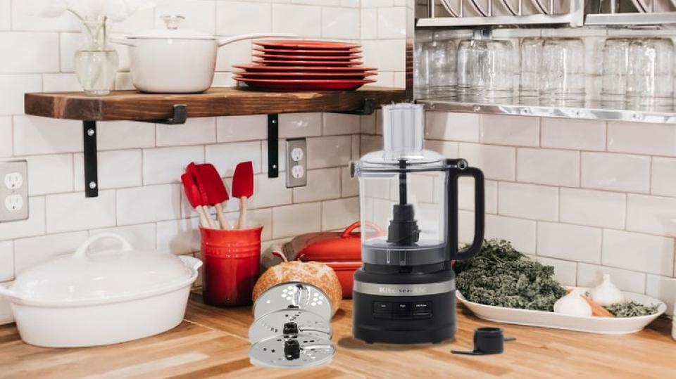 Kitchenaid 9 Cup Food Processor KFP0918BM