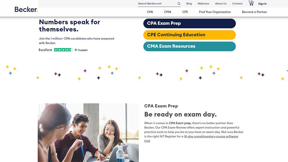 Becker CPA CPE CMA Courses