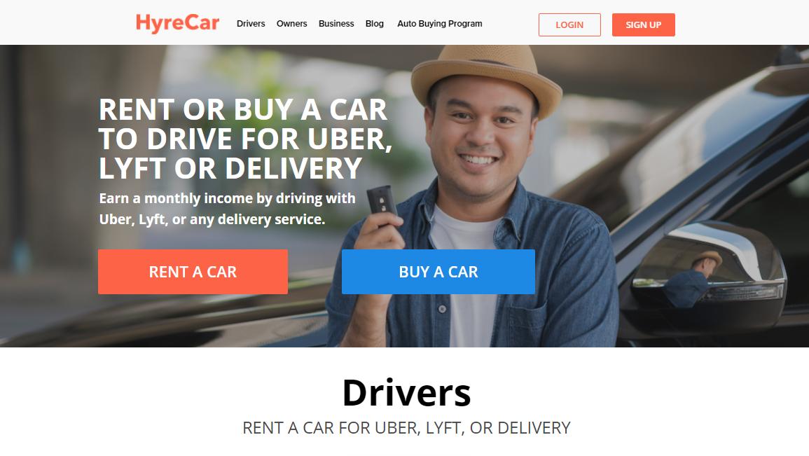 HyreCar Car Rentals