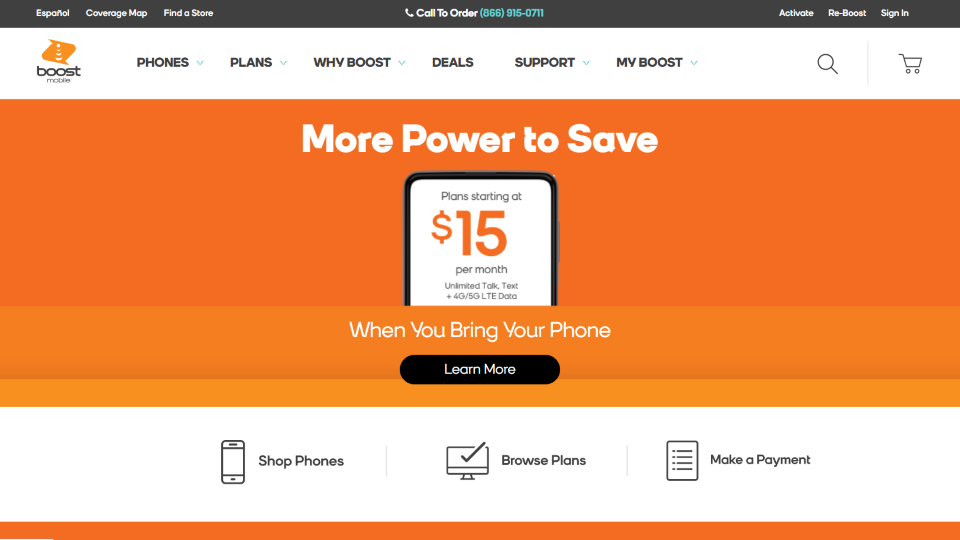 Boost Mobile Wireless Carrier