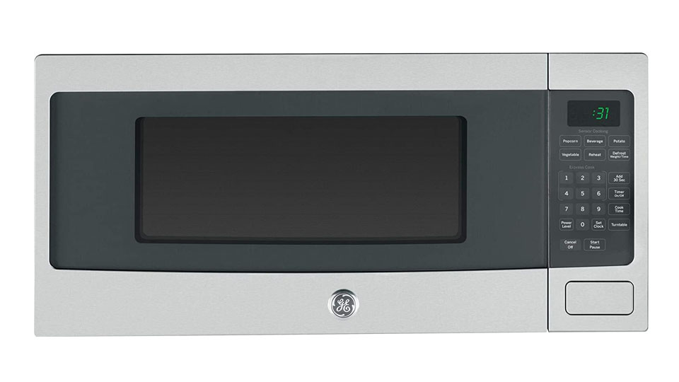 GE Profile™ 1.1 Cu. Ft. Countertop Microwave Oven PEM31SFSS