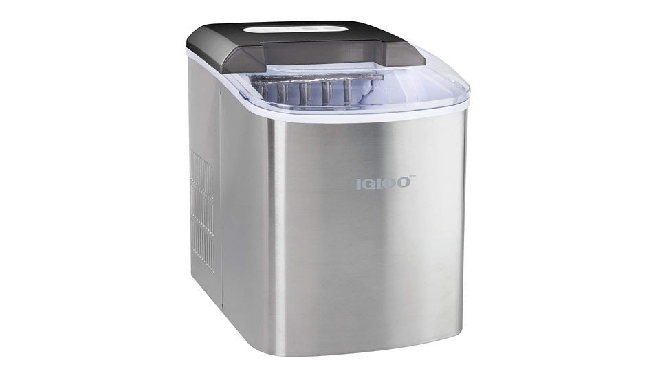 Igloo ICEB26SS Automatic Portable Electric Countertop Ice Maker Machine