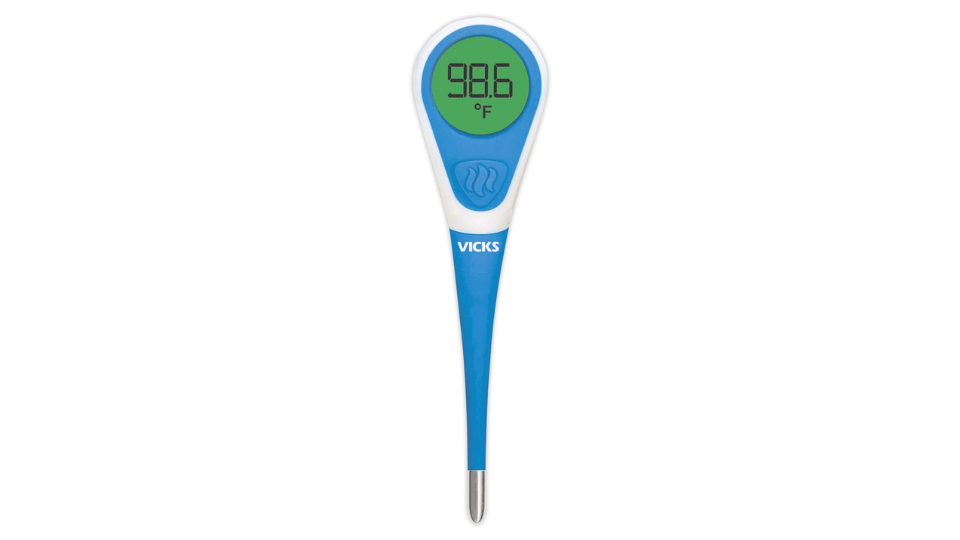 Vicks ComfortFlex Thermometer With Fever InSight