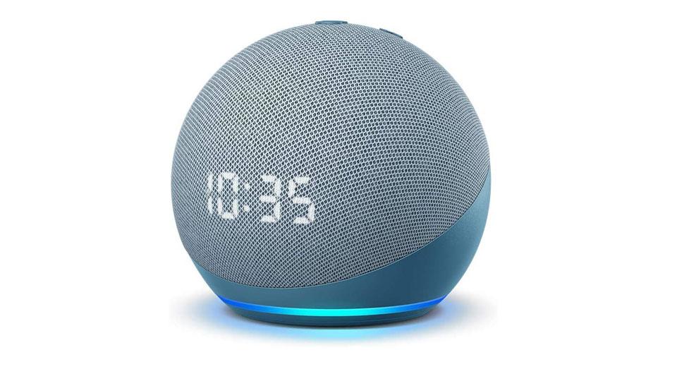 Amazon Echo Dot (4th Gen) | Smart Speaker With Clock And Alexa