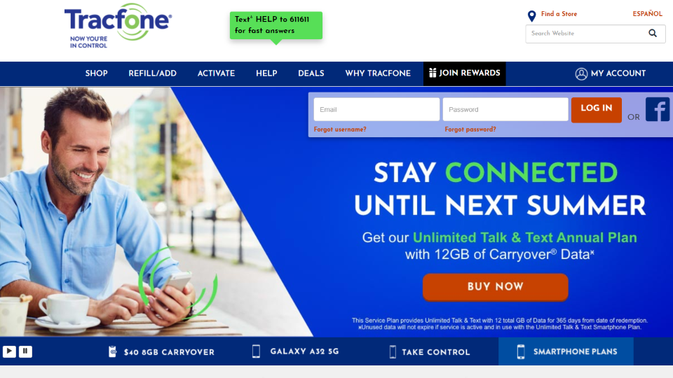 Tracfone Wireless Carrier