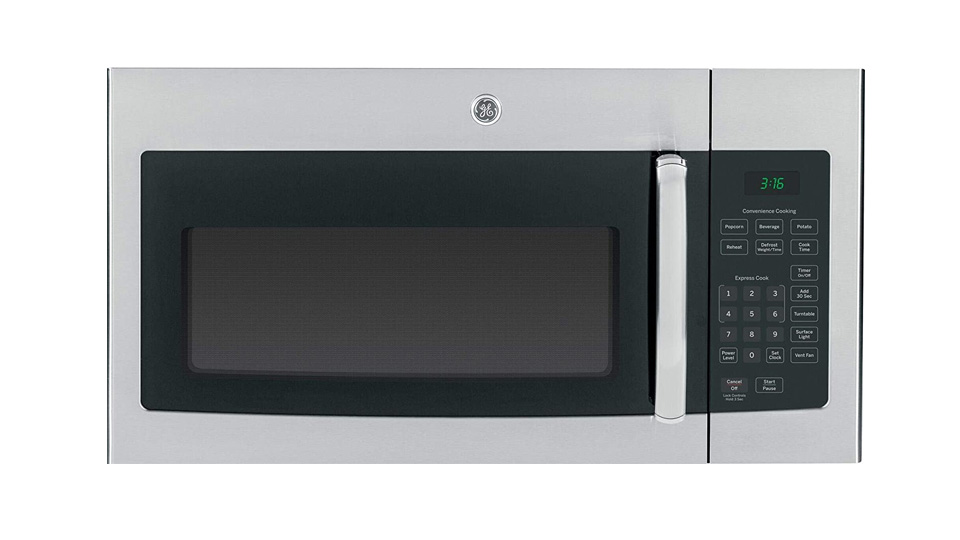 GE®  1.6 Cu. Ft. Over-the-Range Microwave Oven JVM3160RFSS