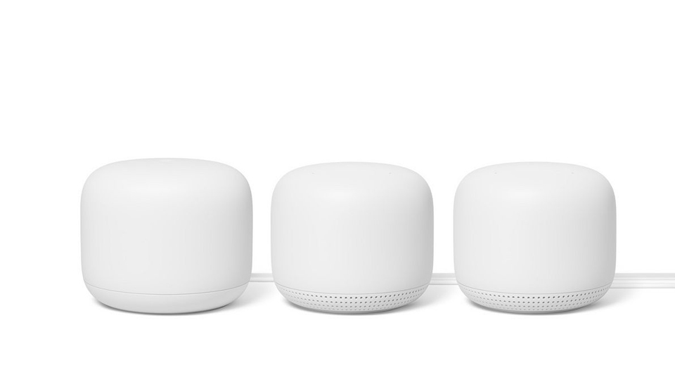 Google Nest WiFi Router Snow + Two Points Snow