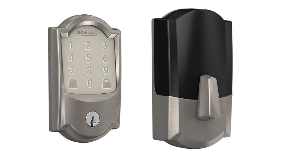 Schlage Be489wb-Cam Encode Wifi Enabled Electronic Keypad Deadbolt Locks
