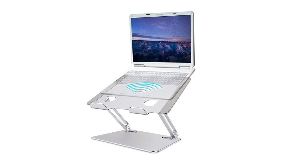 Cheflaud Ergonomic Aluminum Laptop Holder